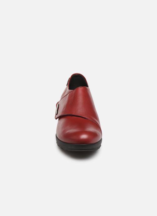 Mocassins Mephisto Adilia Bordeaux vue portées chaussures