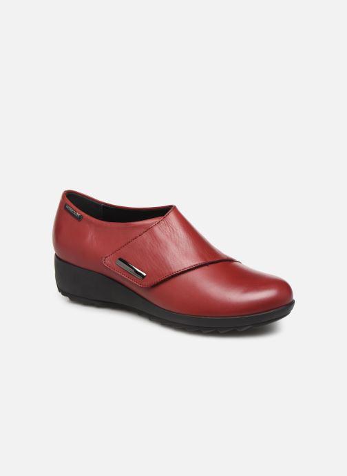 Loafers Mephisto Adilia Bordeaux detaljeret billede af skoene