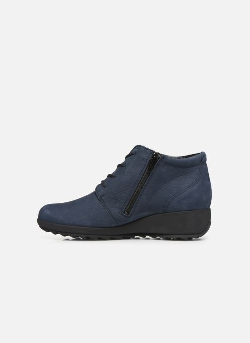 Ankle boots Mephisto Athina Blue front view