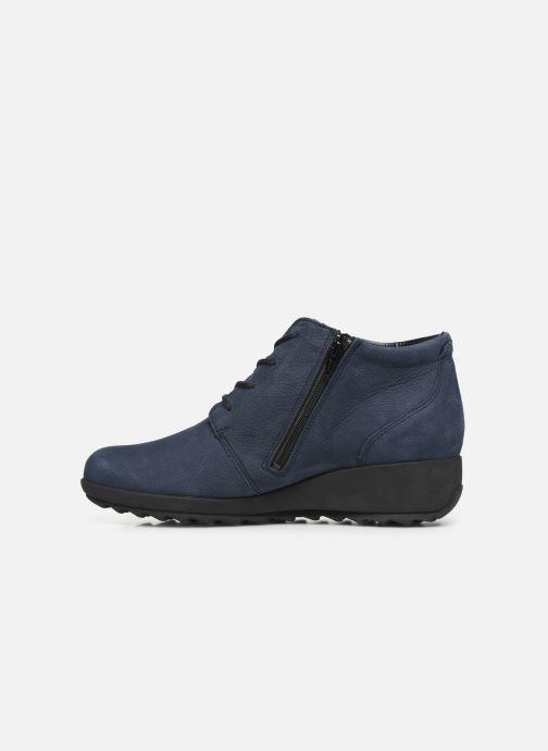 Bottines et boots Mephisto Athina Bleu vue face