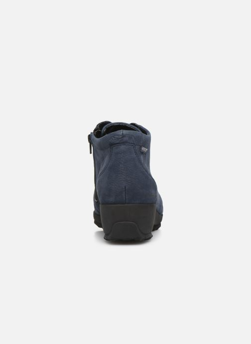Ankle boots Mephisto Athina Blue view from the right