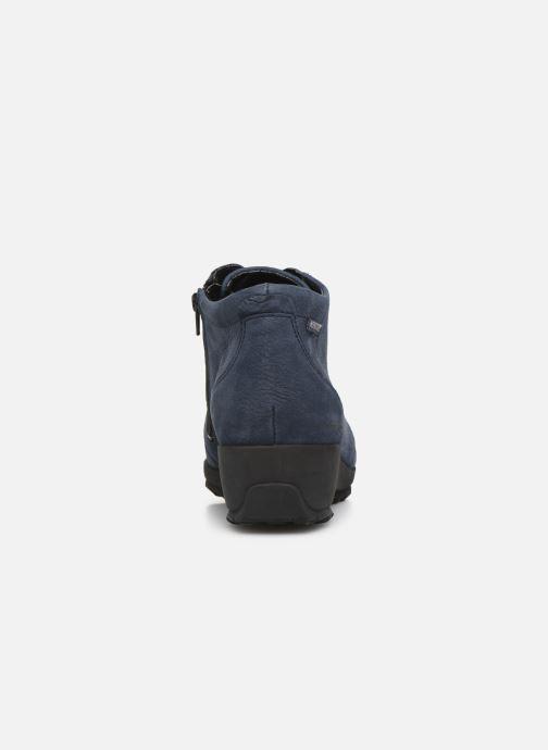 Bottines et boots Mephisto Athina Bleu vue droite