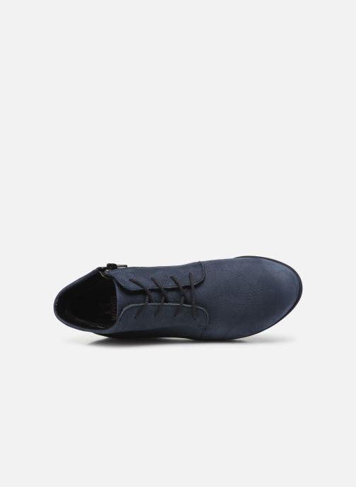 Bottines et boots Mephisto Athina Bleu vue gauche