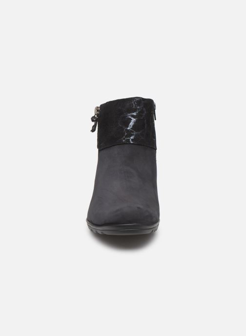 Bottines et boots Mephisto Catalina Bleu vue portées chaussures