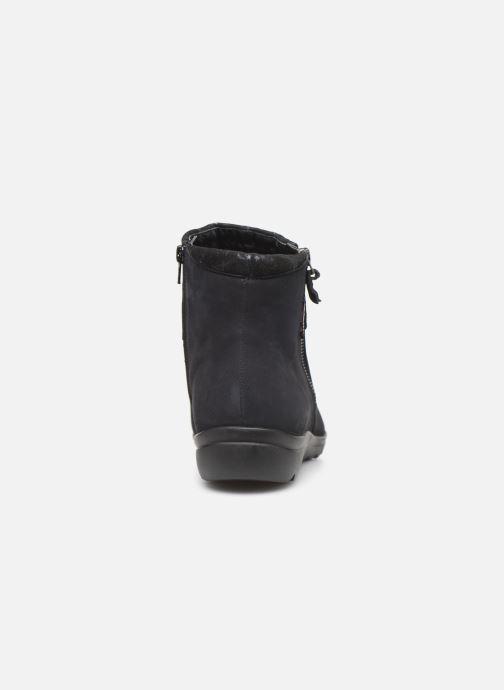 Bottines et boots Mephisto Catalina Bleu vue droite