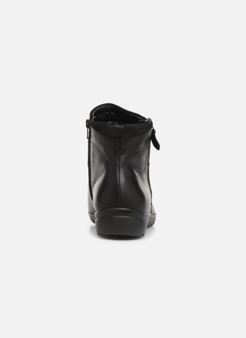 Ankle boots Mephisto Catalina Black view from the right