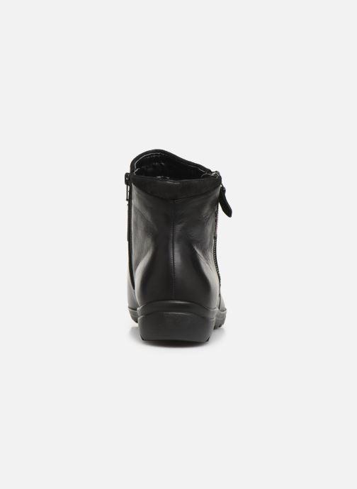 Bottines et boots Mephisto Catalina Noir vue droite