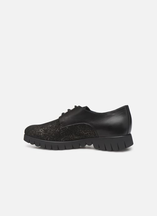 Lace-up shoes Mephisto Lorence Black front view