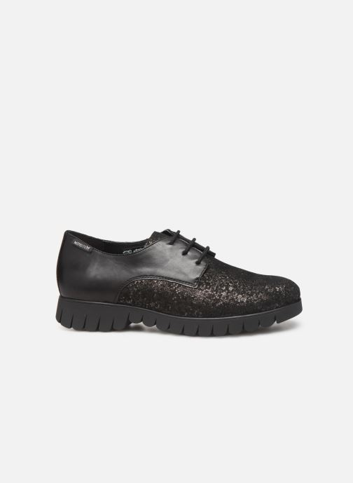 Lace-up shoes Mephisto Lorence Black back view