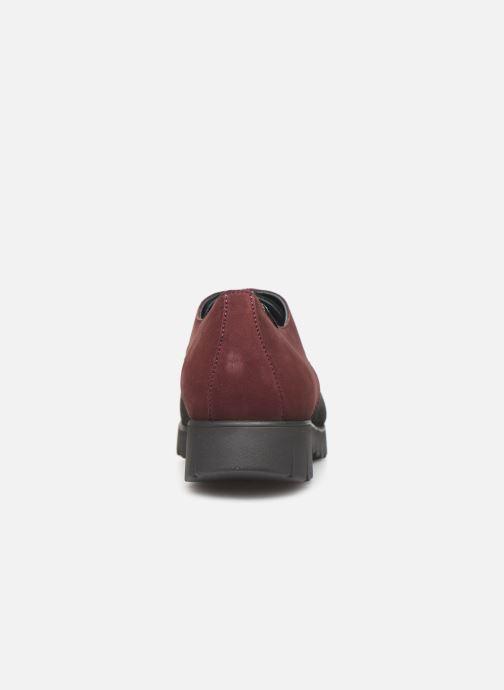 Chaussures à lacets Mephisto Lorence Bordeaux vue droite