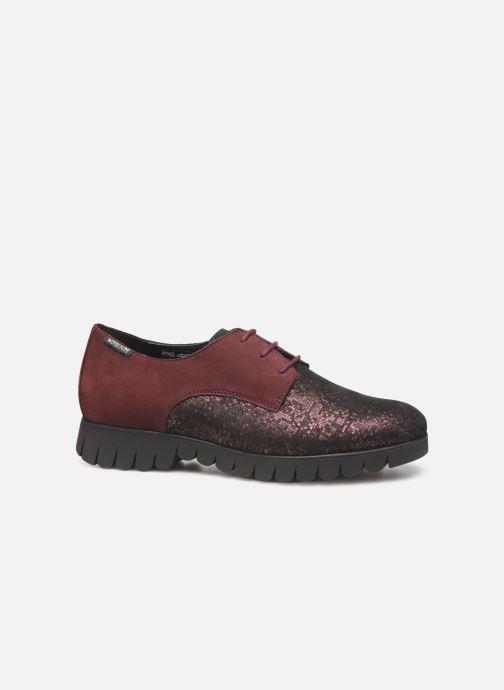 Chaussures à lacets Mephisto Lorence Bordeaux vue derrière