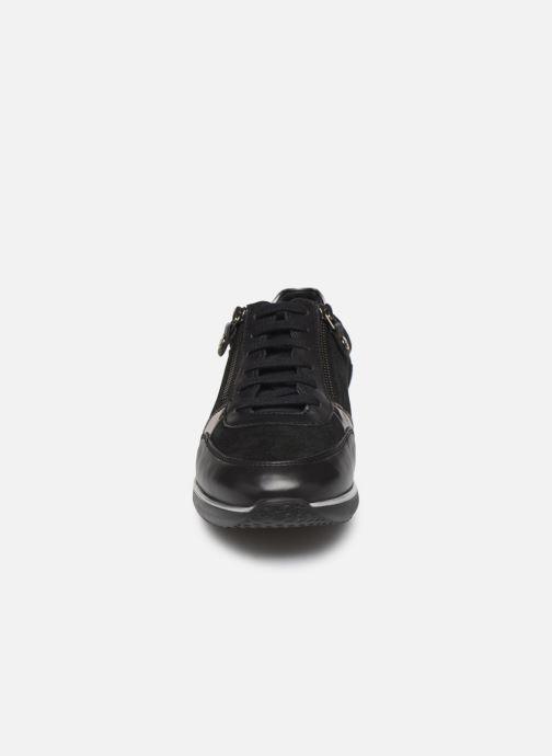 Baskets Mephisto Monia Noir vue portées chaussures