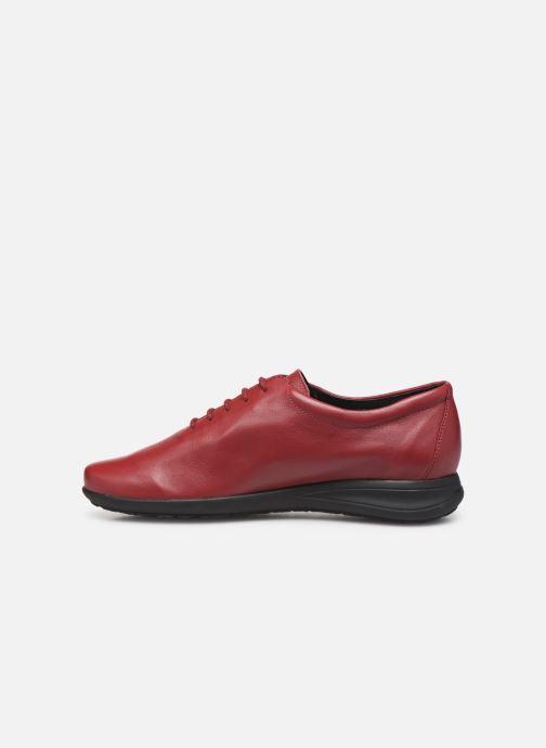 Chaussures à lacets Mephisto Nency Rouge vue face