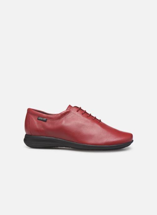 Chaussures à lacets Mephisto Nency Rouge vue derrière