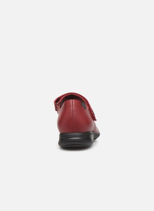 Ballerines Mephisto Nyna Bordeaux vue droite