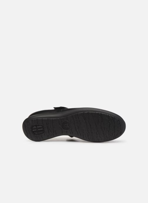 Ballet pumps Mephisto Nyna Black view from above