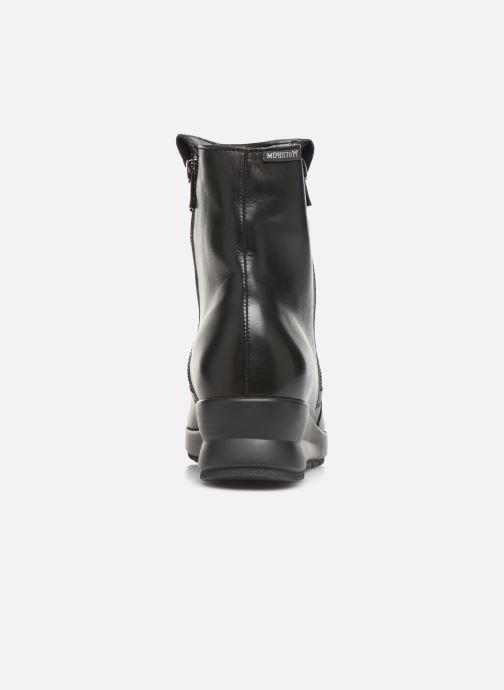 Bottines et boots Mephisto Phila Noir vue droite