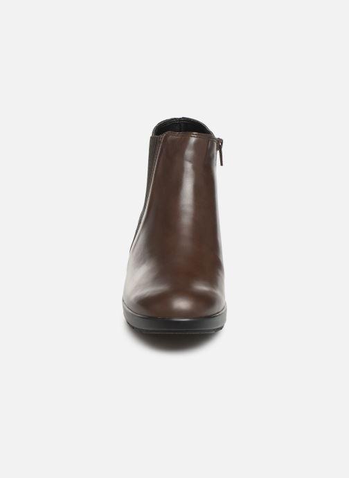 Bottines et boots Mephisto Pienza Marron vue portées chaussures