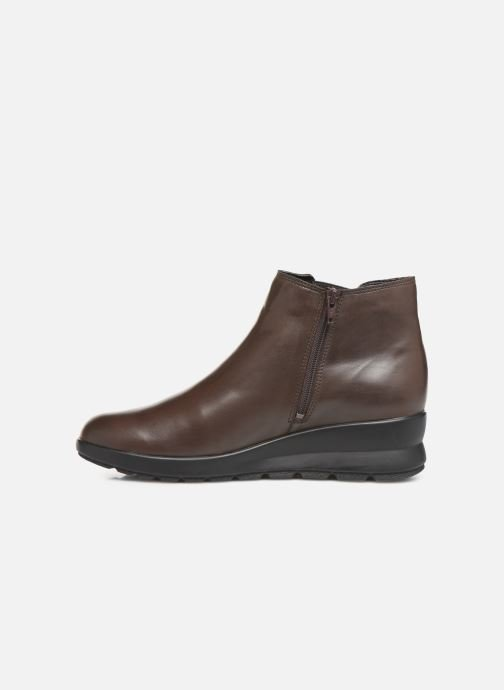 Ankle boots Mephisto Pienza Brown front view