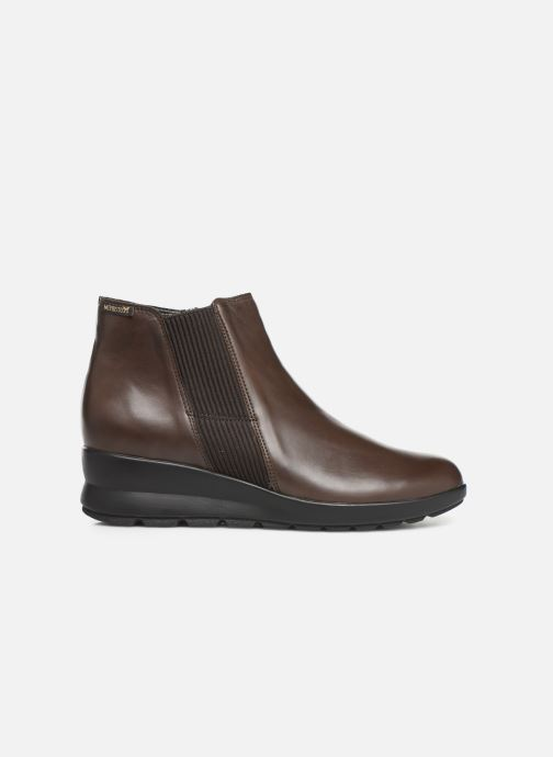 Ankle boots Mephisto Pienza Brown back view