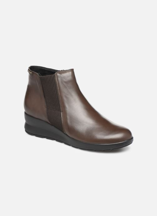 Ankle boots Mephisto Pienza Brown detailed view/ Pair view