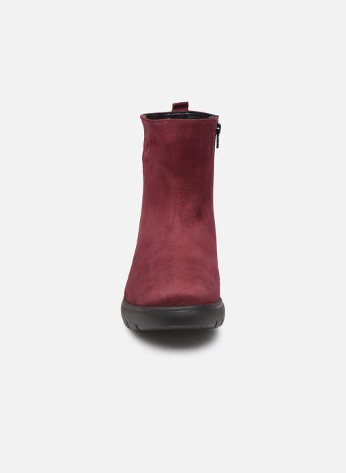 Bottines et boots Mephisto Serina Bordeaux vue portées chaussures