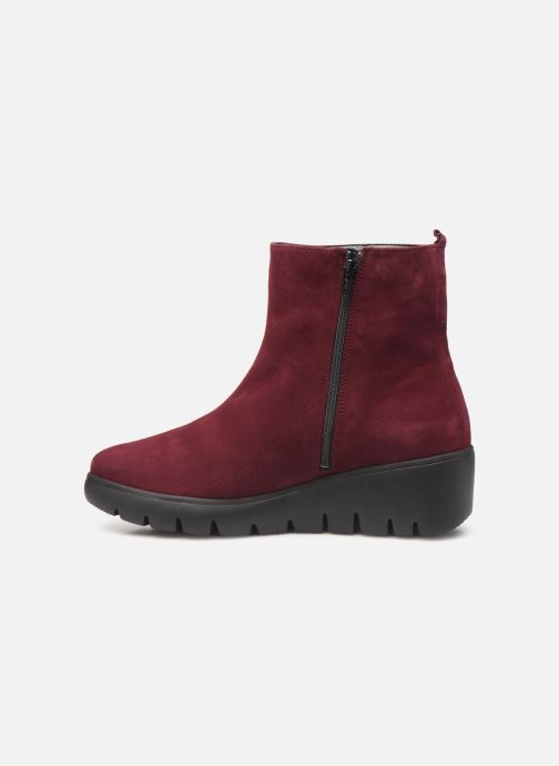 Bottines et boots Mephisto Serina Bordeaux vue face