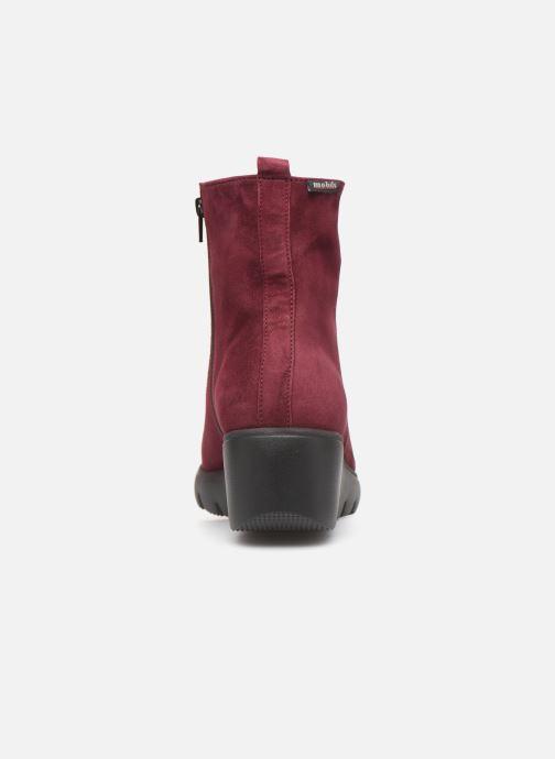 Bottines et boots Mephisto Serina Bordeaux vue droite