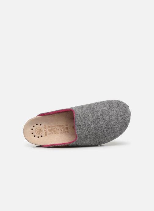 Pantoffels Mephisto Thea Grijs links