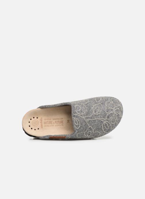 Pantofole Mephisto Thea Grigio immagine sinistra