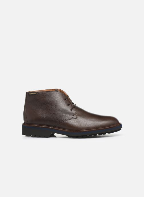 Ankle boots Mephisto Berto Brown back view