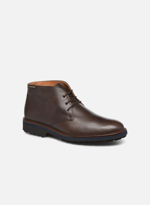 Bottines et boots Mephisto Berto Marron vue détail/paire