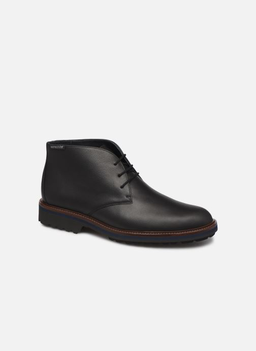 Ankle boots Mephisto Berto Black detailed view/ Pair view
