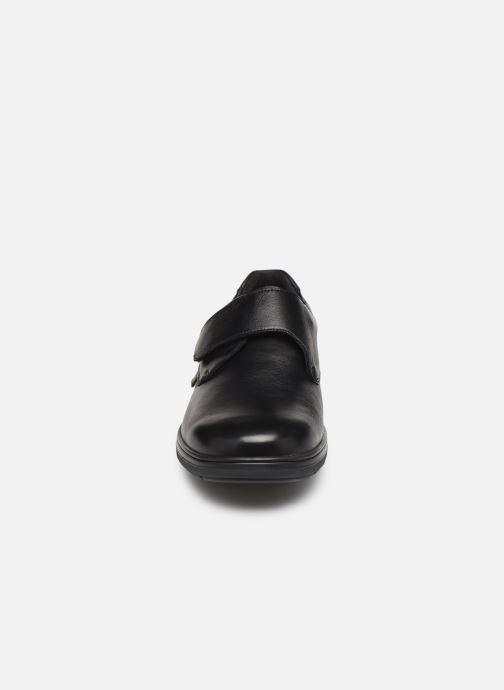 Chaussures à scratch Mephisto Delio Noir vue portées chaussures