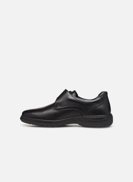 Zapatos con velcro Mephisto Delio Negro vista de frente