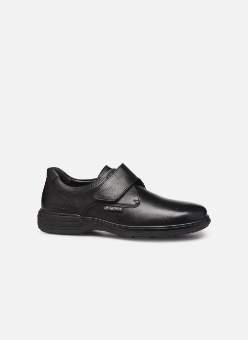 Zapatos con velcro Mephisto Delio Negro vistra trasera