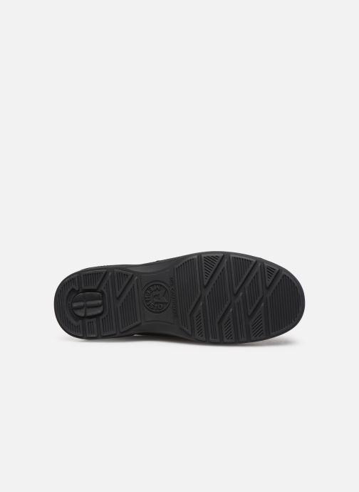 Chaussures à scratch Mephisto Delio Noir vue haut