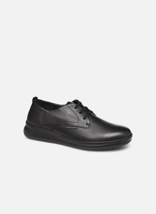Chaussures à lacets Mephisto Lester Noir vue détail/paire