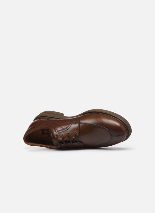 Chaussures à lacets Mephisto Oswaldo Marron vue gauche