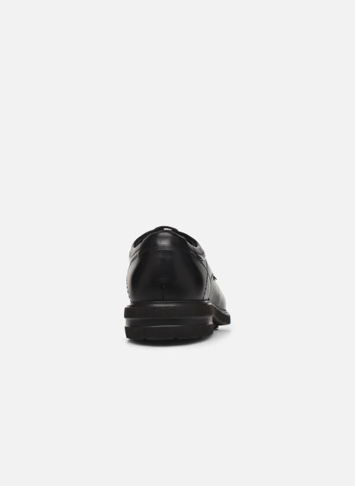Chaussures à lacets Mephisto Oswaldo Noir vue droite
