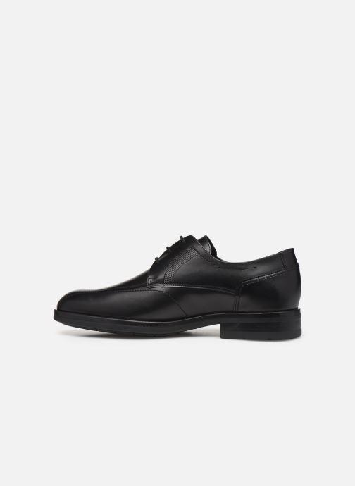 Chaussures à lacets Mephisto Saverio Noir vue face