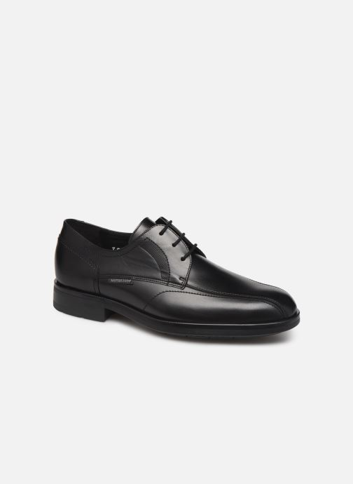 Lace-up shoes Mephisto Saverio Black detailed view/ Pair view