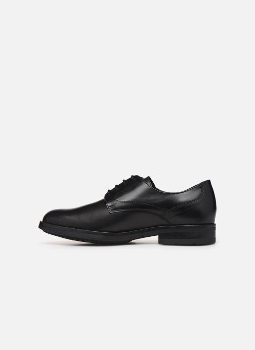 Chaussures à lacets Mephisto Smith Noir vue face