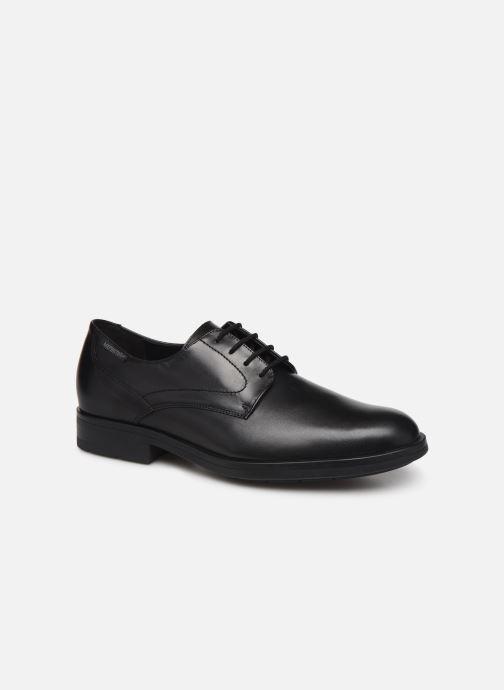 Chaussures à lacets Mephisto Smith Noir vue détail/paire