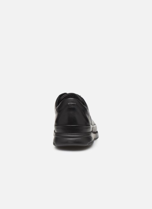 Zapatos con cordones Mephisto Tedy Negro vista lateral derecha