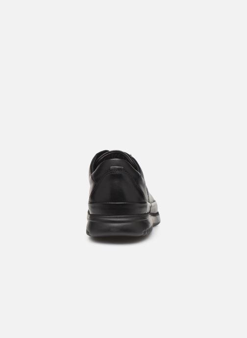 Chaussures à lacets Mephisto Tedy Noir vue droite