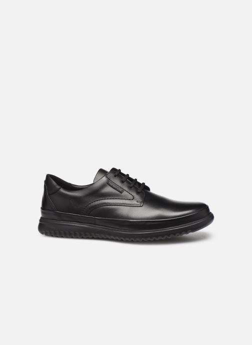 Lace-up shoes Mephisto Tedy Black back view