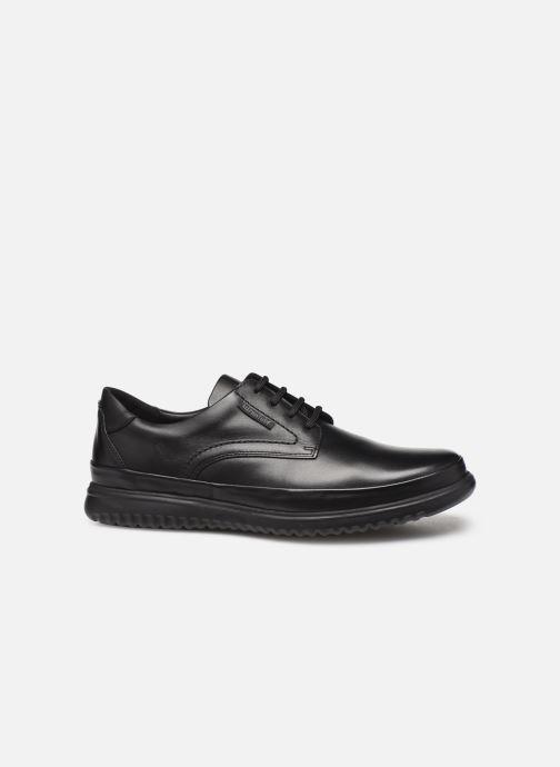 Chaussures à lacets Mephisto Tedy Noir vue derrière