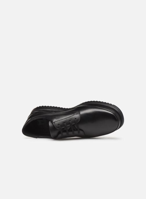 Zapatos con cordones Mephisto Tedy Negro vista lateral izquierda