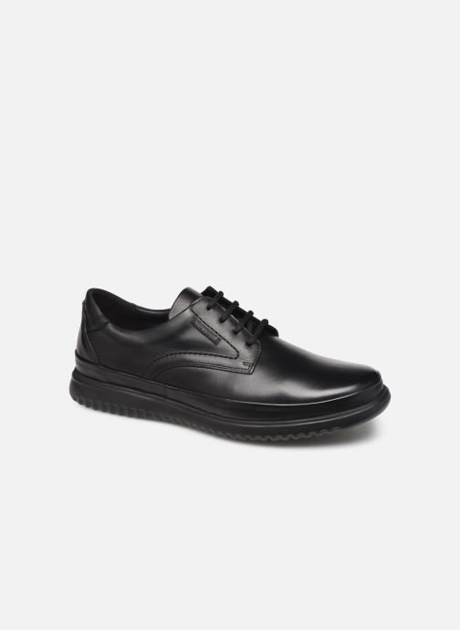 Lace-up shoes Mephisto Tedy Black detailed view/ Pair view